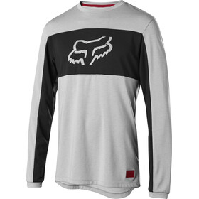 Fox Ranger Dr Foxhead Bike Jersey Longsleeve Men grey/black